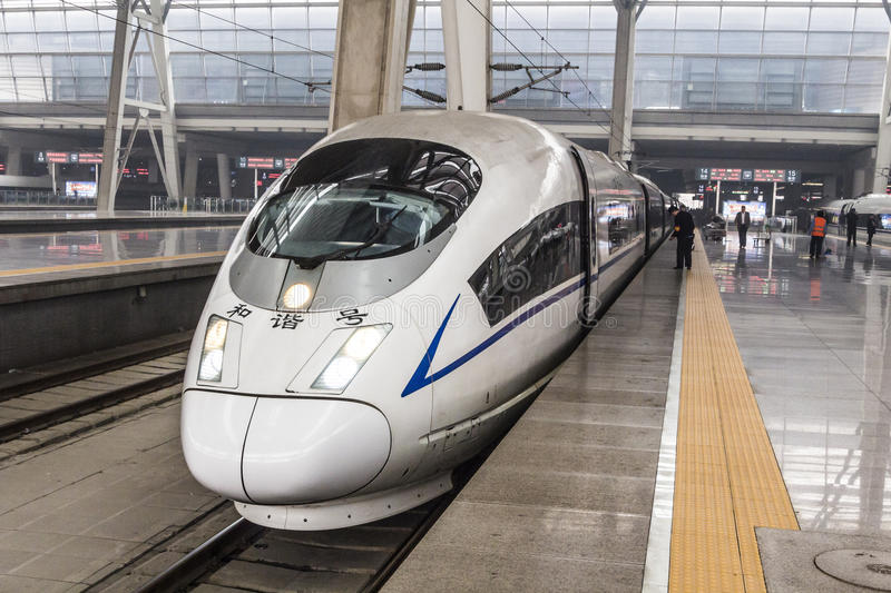 Download Bullet train editorial stock image. Image of motion, train - 53901654
