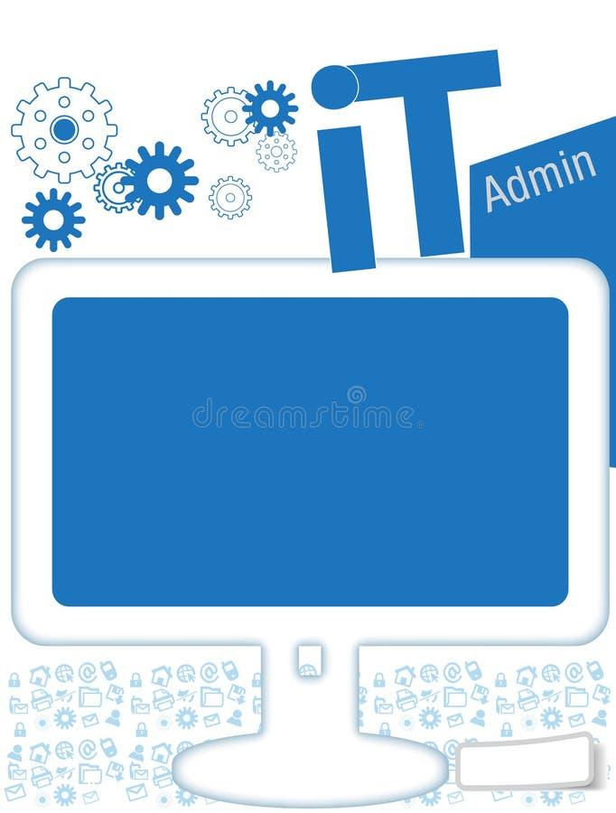 IT Bulletin royalty-vrije stock afbeeldingen