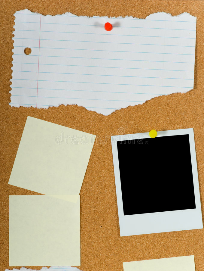 Download Bulletin Board stock photo. Image of bulletin, reminders - 3259216