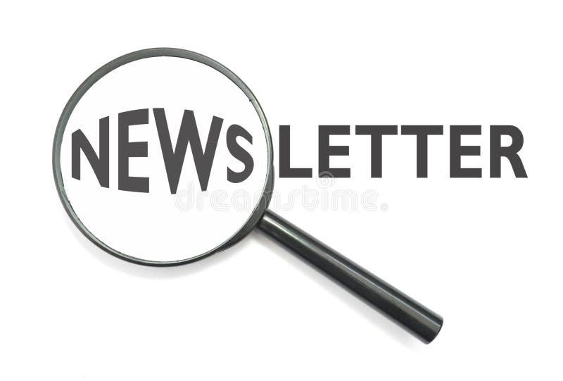 Bulletin d'information images libres de droits