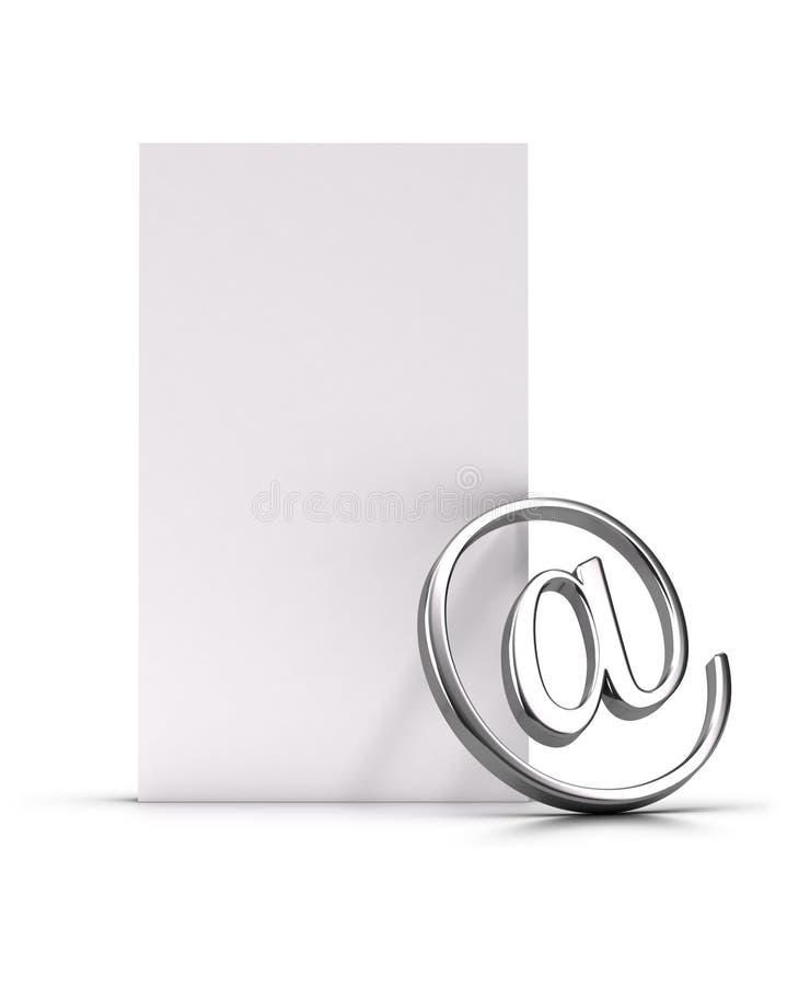 Bulletin d'information ou email illustration de vecteur