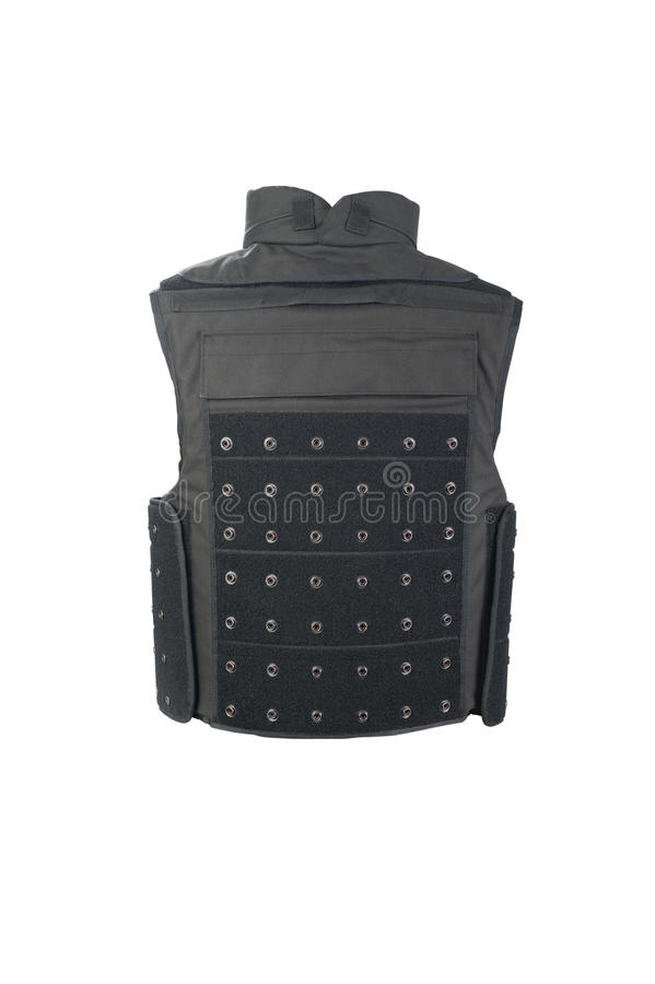 Bulletproof vest stock images