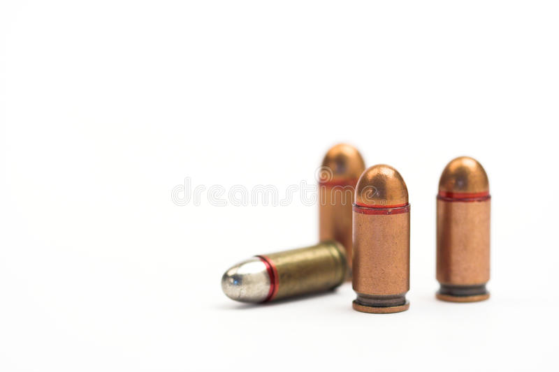 Download Bullets stock photo. Image of bullet, macro, isolated - 12841514