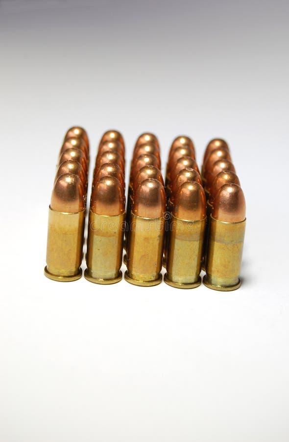 bullets photo libre de droits