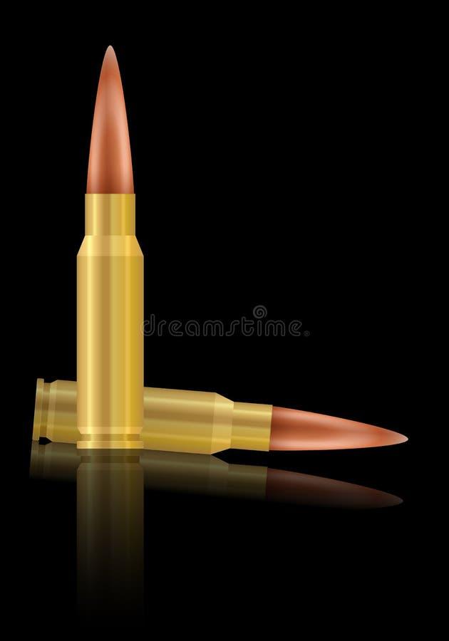 bullets ilustración del vector