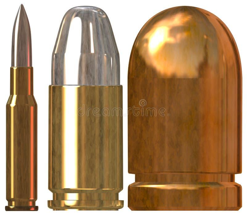 bullets stock de ilustración