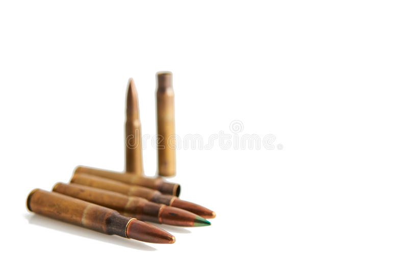 bullets photographie stock