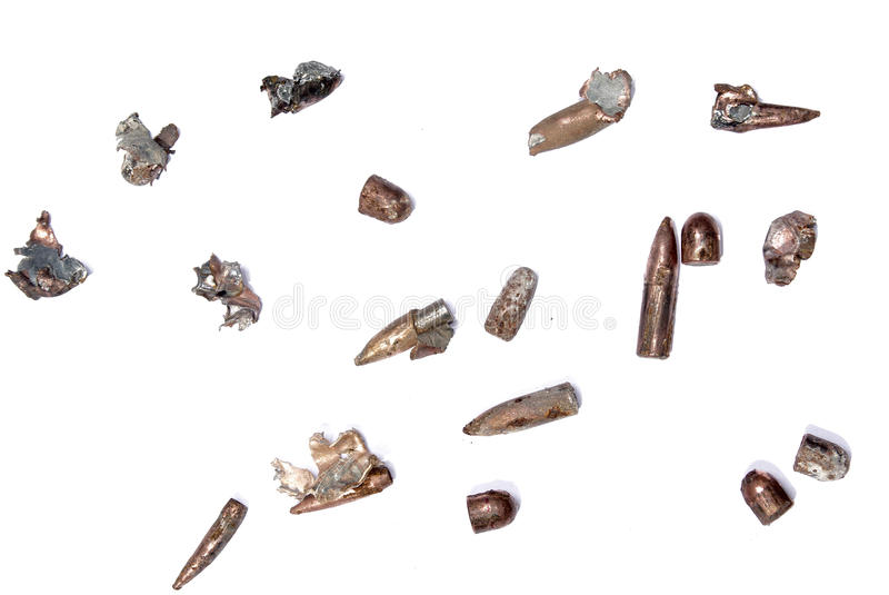Bullets been shot [02] royalty free stock photos
