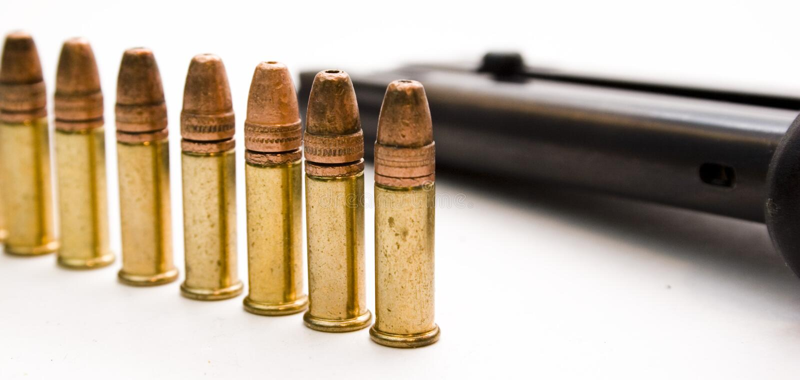 Download Bullets & Magazine stock photo. Image of walther, sherrif - 156828