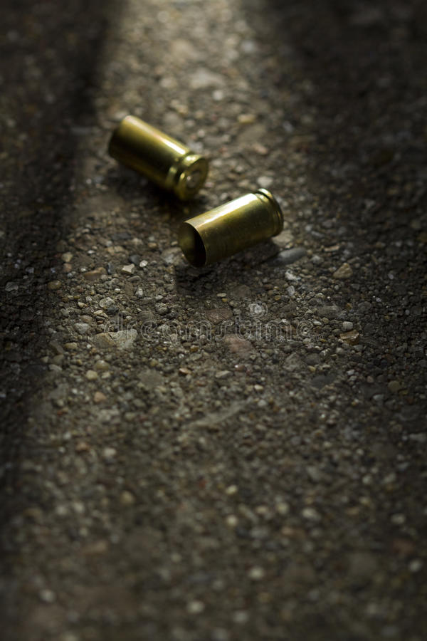 Free Bullets On The Ground Stock Image - 30433111