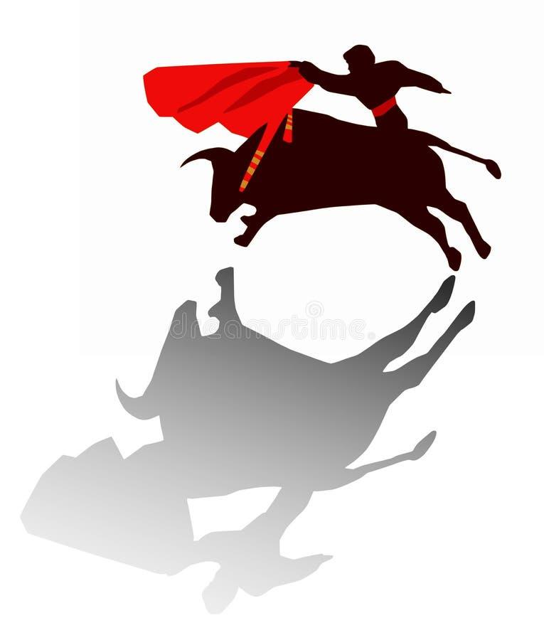 Download Bullfight stock illustration. Image of madrid, fighter - 6183939