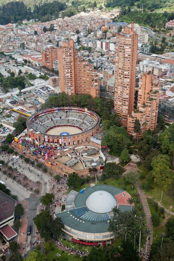 Bullfight-Arena in Bogota Kolumbien stockfotografie