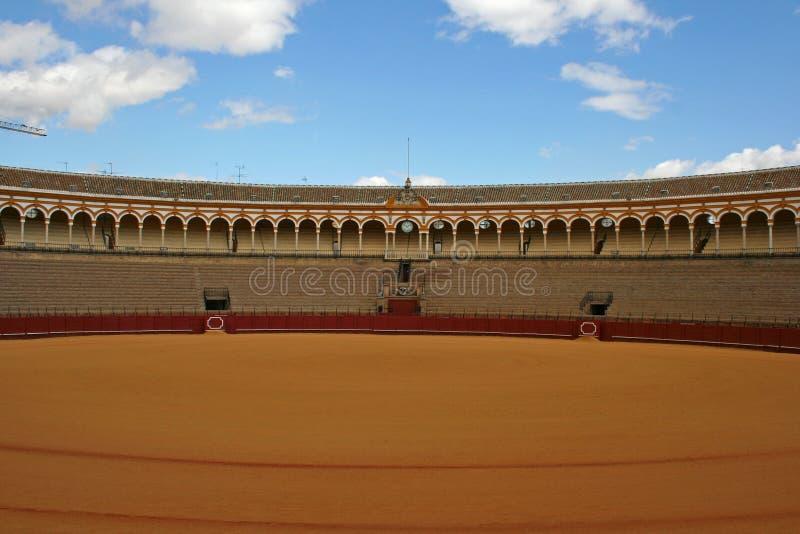 bullfight sevilla арены стоковое фото