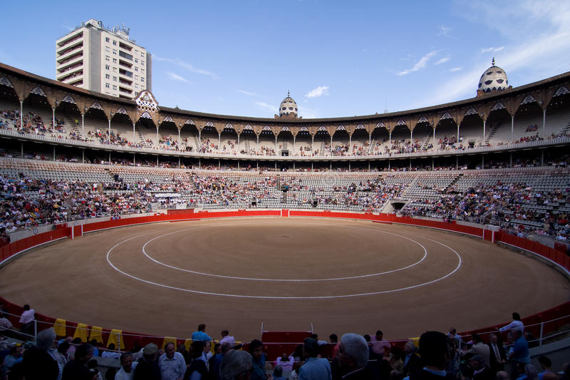 Download Bullfight Stadium, Barcelona Editorial Photo - Image: 17714701