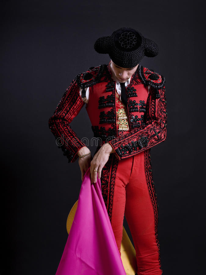 Bullfighter royalty free stock photography