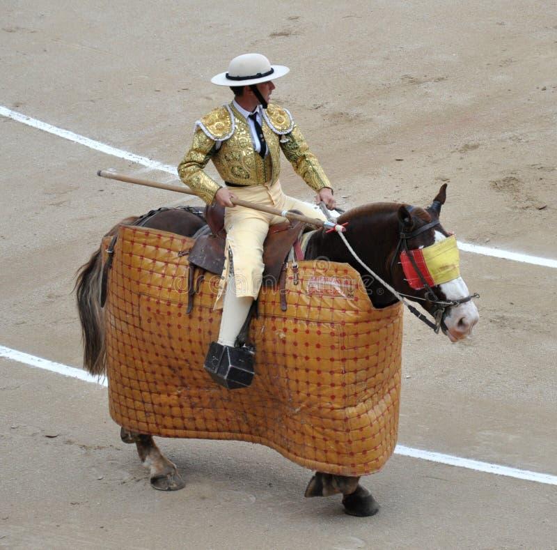 bullfighting fotografia stock