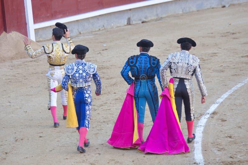 bullfighting obrazy stock