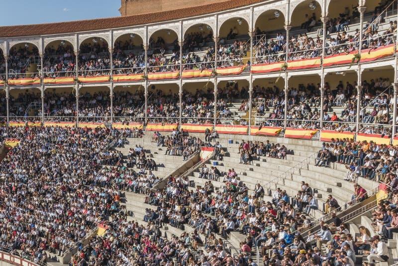 bullfighting arena royalty free stock images