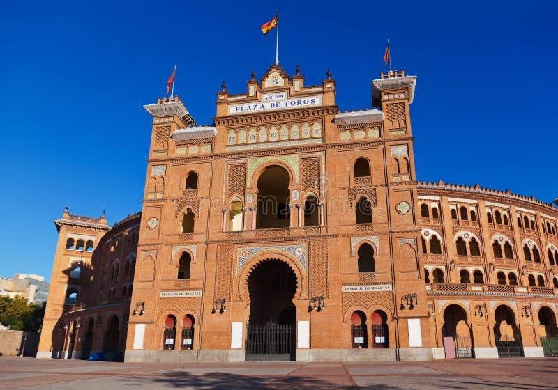 Bullfighting corrida arena w Madryt Hiszpania fotografia stock