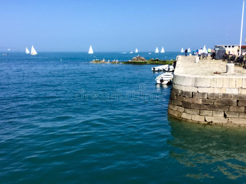 Bullock harbour stock photography