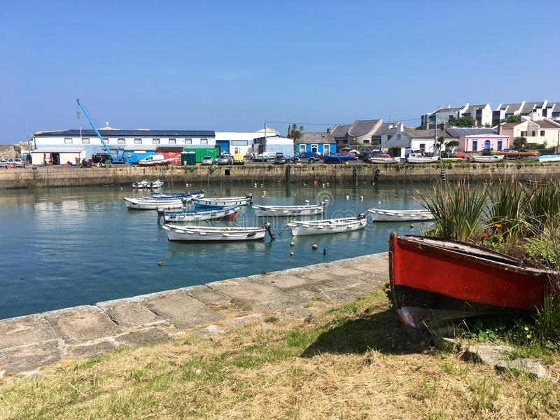 Bullock harbour royalty free stock photo