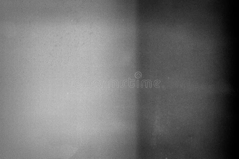 Bullrig filmram med tungt oväsen, damm och korn royaltyfria bilder