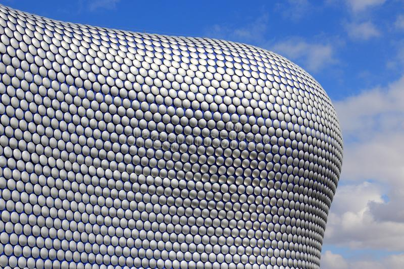 Bullring, Birmingham. BIRMINGHAM, UK - APRIL 19, 2013: Selfridges department store in Birmingham. The modern building is part of Bullring Shopping Centre and was royalty free stock photography