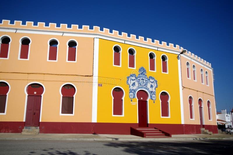 Bullring en Reguengos de Monsaraz photographie stock libre de droits