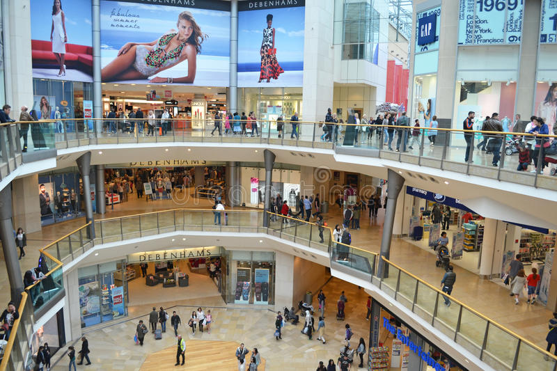 Bullring Shopping Centre editorial stock image Image of commerce