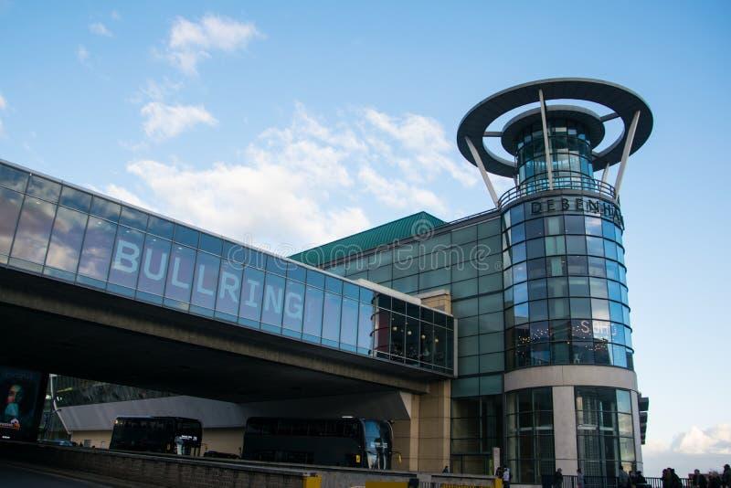 Birmingham City Centre Bullring shopping centre stock images