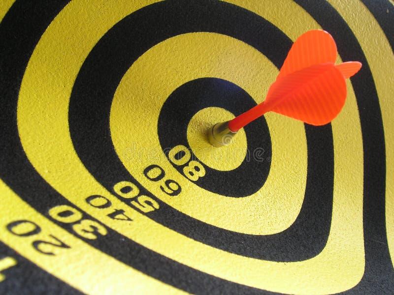 Bulls Eye! stock images