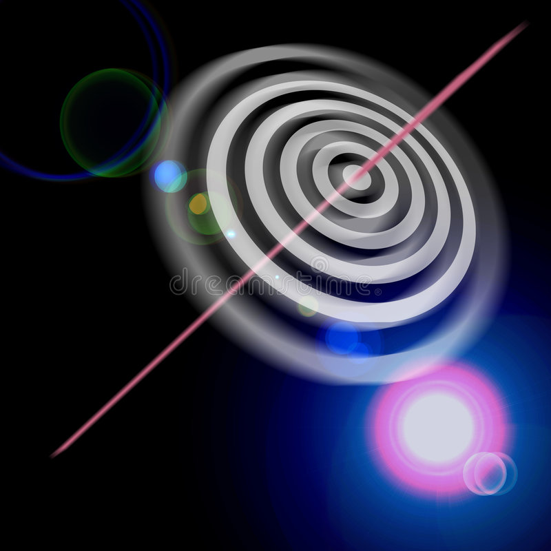 Bulls eye bullseye success royalty free illustration