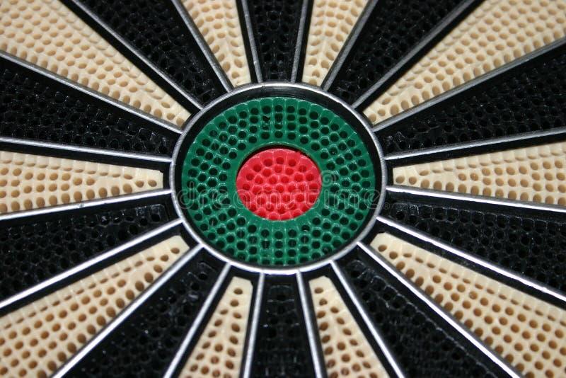 Bulls Eye Of Dart Board Free Stock Photography