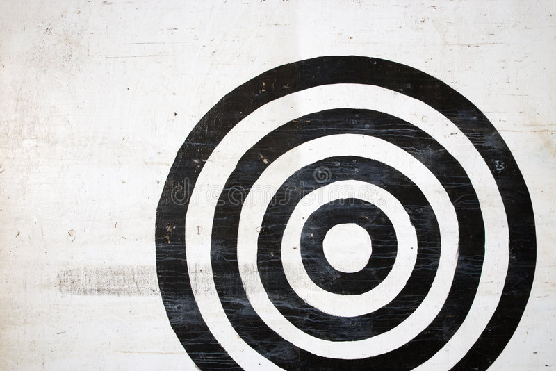 bullseye στόχος στοκ εικόνες