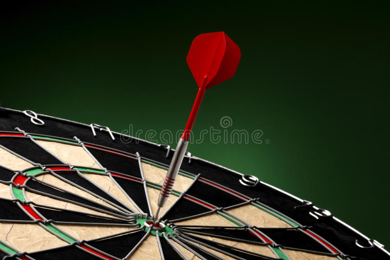 Bullseye! immagini stock libere da diritti