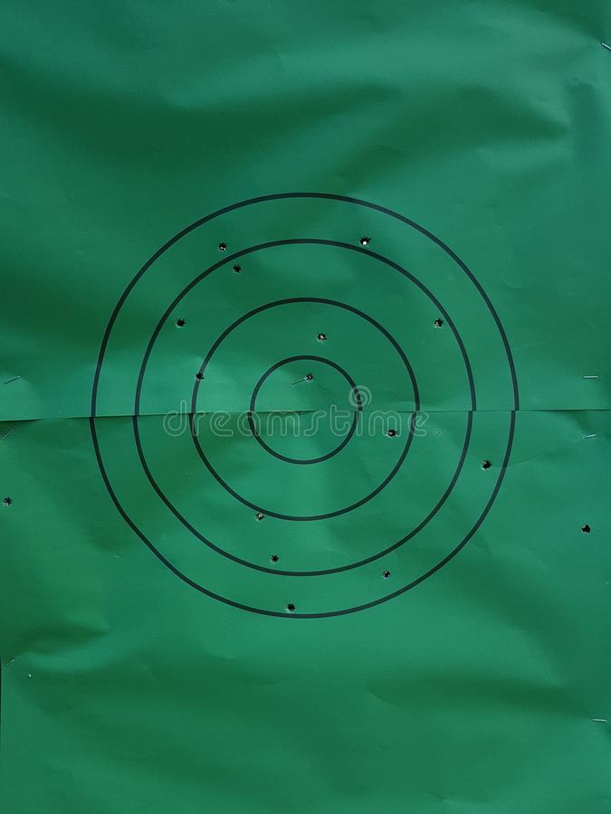 Bullseye! στοκ φωτογραφία με δικαίωμα ελεύθερης χρήσης