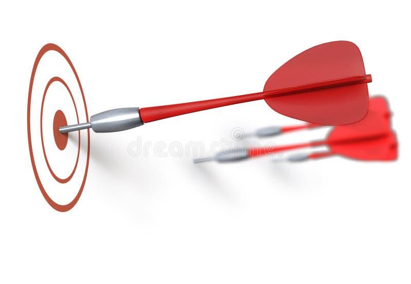 Bullseye illustrazione vettoriale