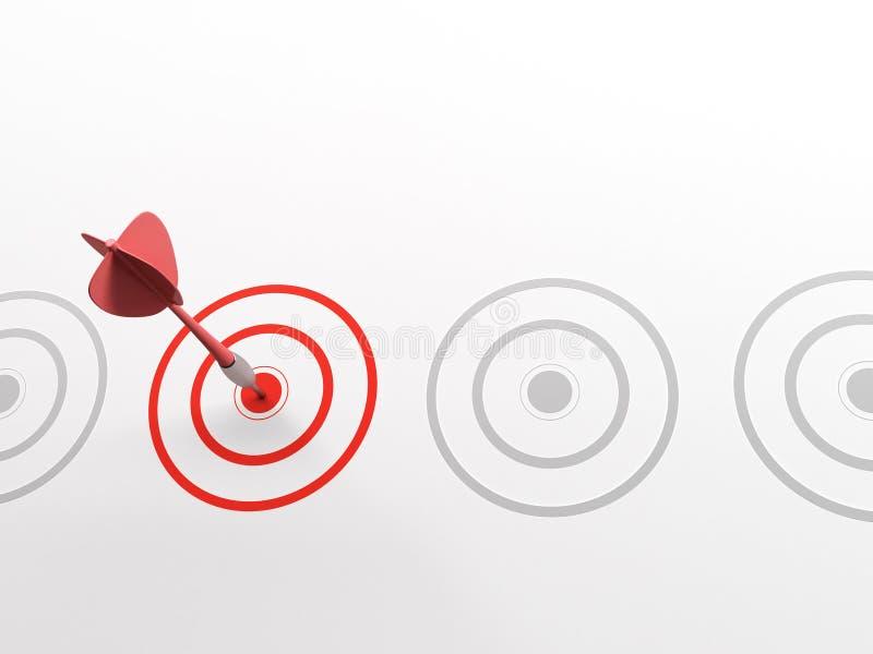 Bullseye royalty illustrazione gratis