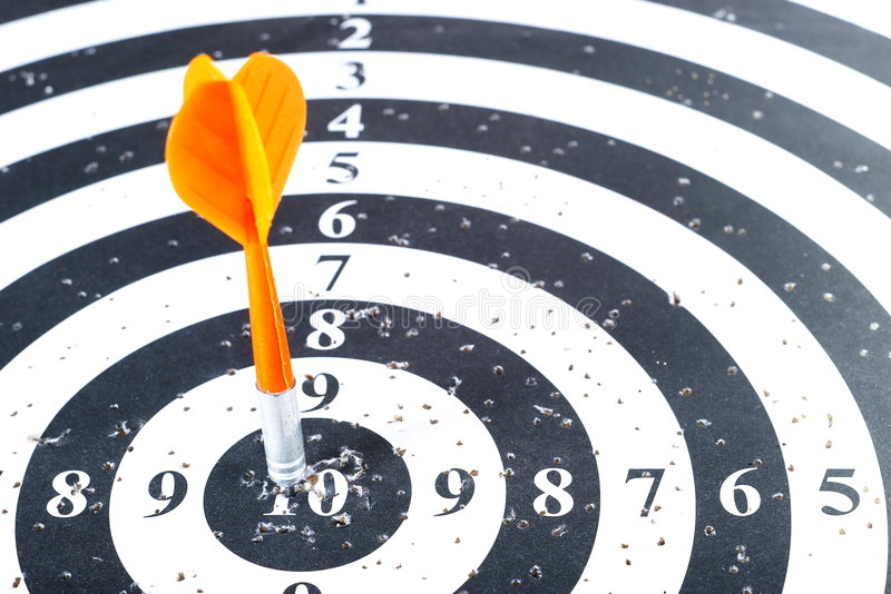 Bullseye foto de stock royalty free