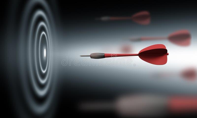 Bullseye ilustração do vetor
