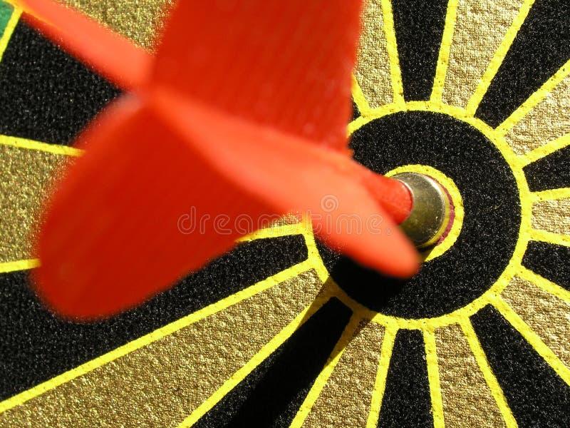 Bullseye! stock photo