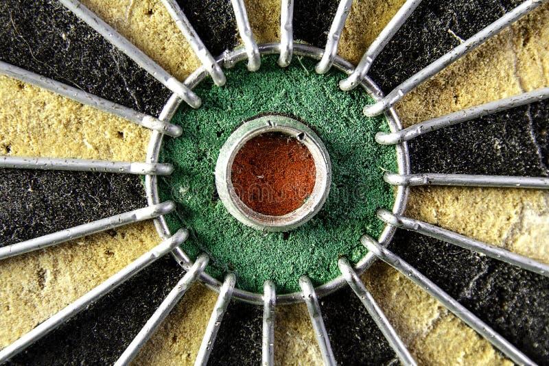 bullseye stock afbeelding