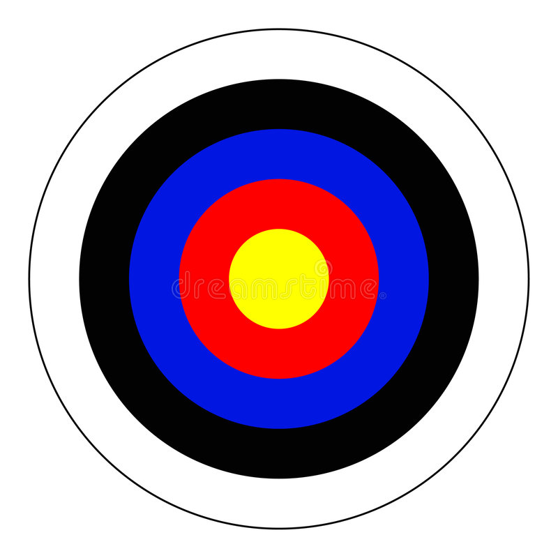 Free Bullseye Royalty Free Stock Images - 596369
