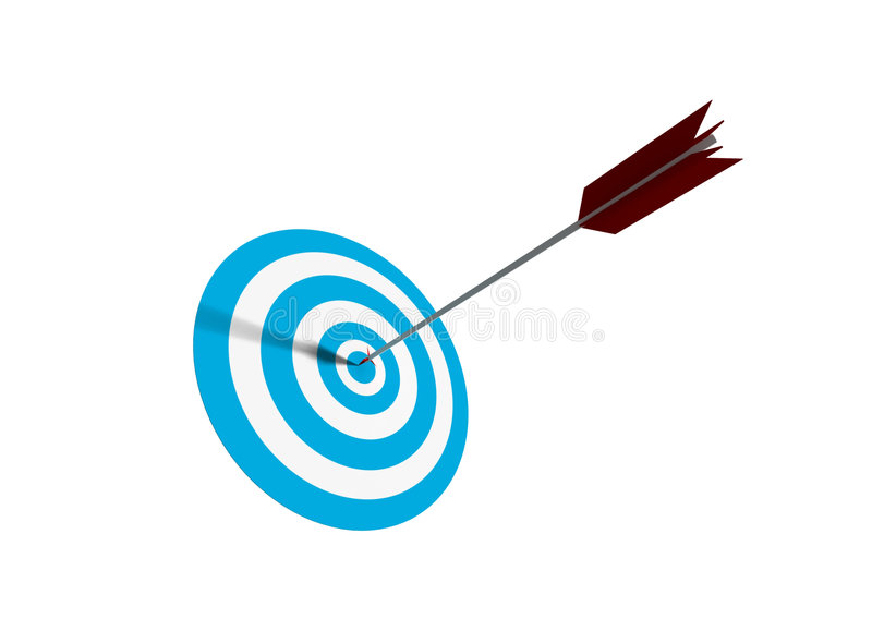 Bullseye vector illustratie