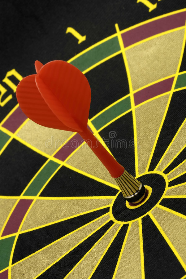 Bullseye royalty free stock photos