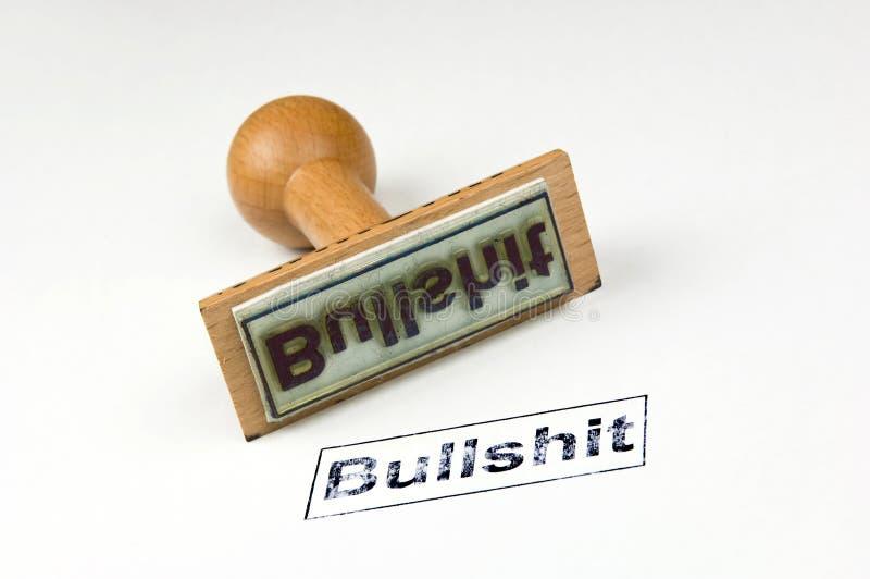 bullshit γραμματόσημο στοκ εικόνες
