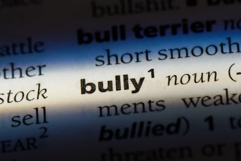 bully imagen de archivo libre de regalías