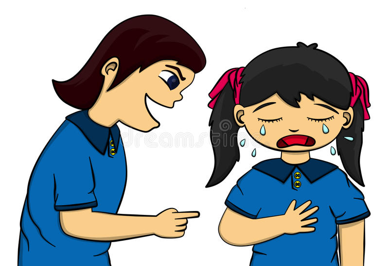 Download Bully stock illustration. Image of mean, school, grief - 24006810