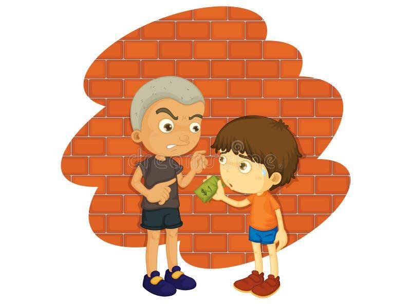 Bully ilustração do vetor
