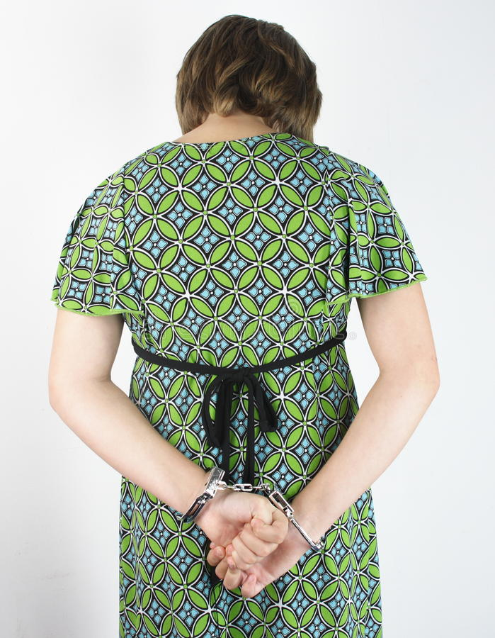 Download Bully Girl Arrested stock image. Image of cuff, child - 20036501